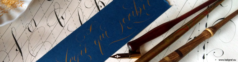 Seminarium kaligrafii copperplate 2016